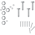 Screws, Bolts, and Nails Icon