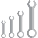 Wrench Set Flat Icon