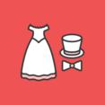 Wedding Attire Flat Icon
