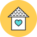 Birdhouse Flat Icon