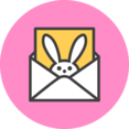 Bunny Email Icon