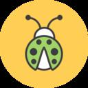 Ladybug Flat Icon