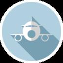 Flat Plane Icon
