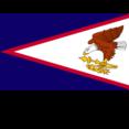 American Samoa Flat Flag Icon