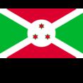 Burundi Flat Flag Icon