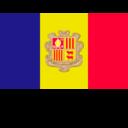 Flat Andorra Flag