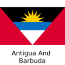 Flat Antigua and Barbuda Flag