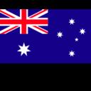 Flat Australia Flag
