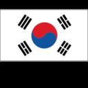 Flat Korea Republic Flag