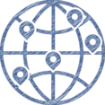 Globe Destination Icon