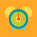 Flat Alarm Clock