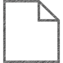 Document Hand-Drawn Icon