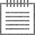 Notepad Hand-Drawn Icon