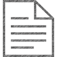 Cover Letter Hand-Drawn Icon