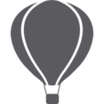 Glyph Hot Air Balloon