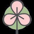 Flat Japanese Blossom