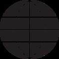 Minimalist Globe Glyph Icon