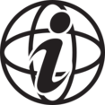 Information Globe Glyph Icon