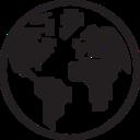 Small World Glyph Icon