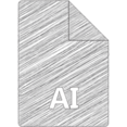Adobe Illustrator Hand-Drawn File Icon
