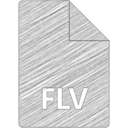Flash/FLV File Hand-Drawn Icon