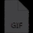 GIF Hand-Drawn Icon