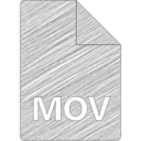 MOV File Hand-Drawn Icon