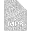 MP3 File Hand-Drawn Icon