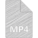 MP4 File Hand-Drawn Icon