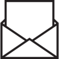 Blank Email Outlined Icon