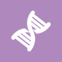 Flat DNA Medical Icon