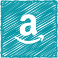 Scribble Style Amazon Icon