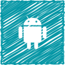Scribble Style Android Icon
