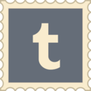 Retro Tumblr Stamp Icon