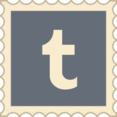 Retro Tumblr Stamp Icon
