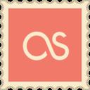 Retro LastFM Stamp Icon
