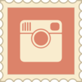 Retro Instagram Stamp Icon