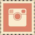 Retro Instagram Stamp Icon