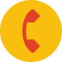 Trendy Flat Phone Icon