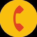 Trendy Flat Phone Icon