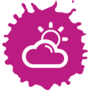 Partly Cloudy Colorful Icon