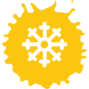 Snowflake Colorful Icon