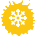 Snowflake Colorful Icon