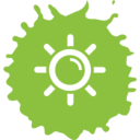 Sunshine Colorful Icon