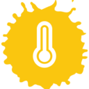 Thermostat Colorful Icon