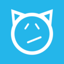 Devil Face Flat Emoticon Icon