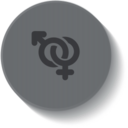 Biology Medical Button Icon