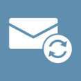 Refreshing Mail Flat Email Icon