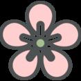 Flat Blossom Icon