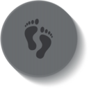 Podiatry Medical Button Icon